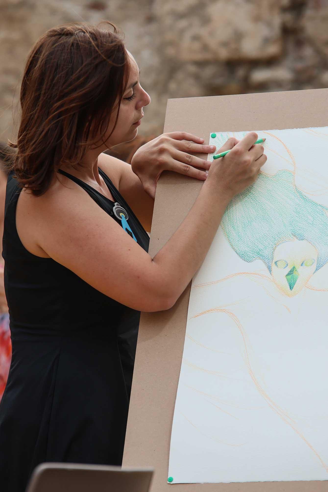 live-painting-di-La-Tram